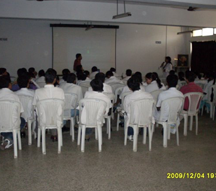 Dr.Vinayak at a Study session at YMTHMC